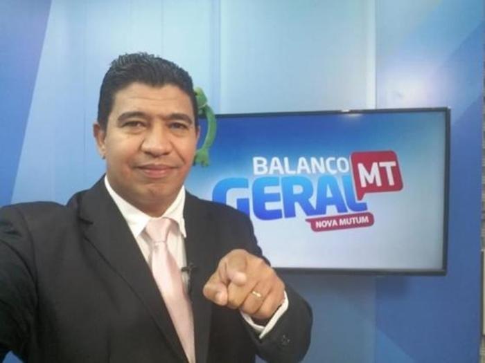 Chico Tello, apresentador do 'Balanço Geral MT', morre em decorrência de Covid-19