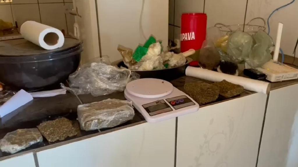Força Tática prende suspeito com maconha em Peixoto de Azevedo