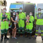A Voz do Povo: socorristas salvam a vida de bebê de cinco meses engasgada durante viagem na BR 163