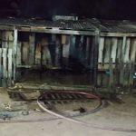 Incêndio destrói residência de madeira em Sinop