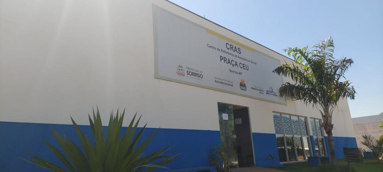 Prédio do CRAS Praça CEU está sendo revitalizado