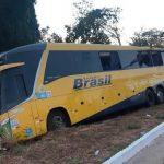 Casal e bebê morrem e 13 pessoas ficaram feridas em acidente com ônibus em MT